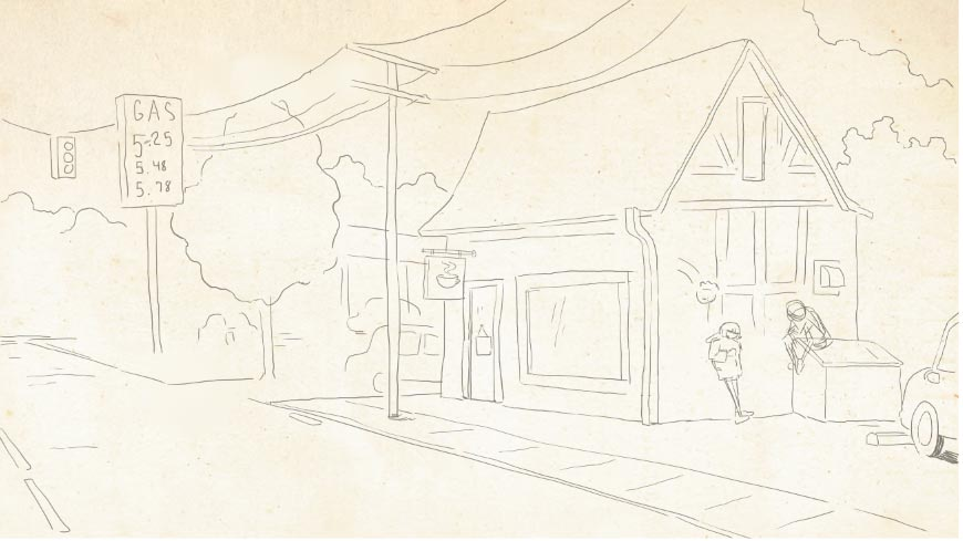 Sketch Coffee Shop