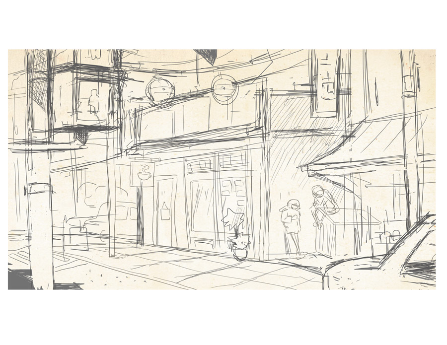 Sketch VHS Coffee Shop