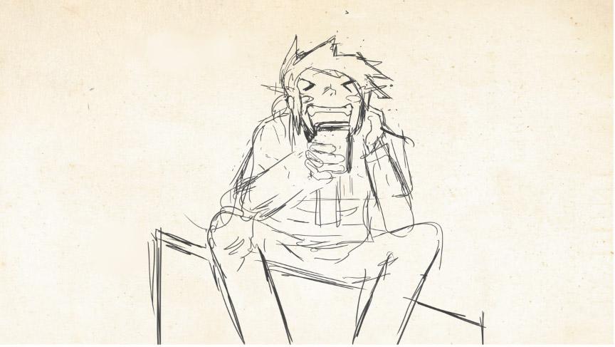 Sketch VHS Guy